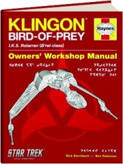 STAR TREK KLINGON BIRD-OF-PREY: Owners' Workshop Manual