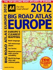 2012 BIG ROAD ATLAS EUROPE