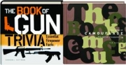 THE BOOK OF CAMOUFLAGE / THE BOOK OF GUN TRIVIA