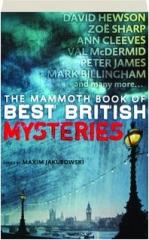THE MAMMOTH BOOK OF BEST BRITISH MYSTERIES, VOLUME 9