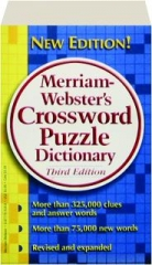MERRIAM-WEBSTER'S CROSSWORD PUZZLE, DICTIONARY, THIRD EDITION REVISED