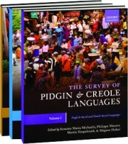 THE SURVEY OF PIDGIN & CREOLE LANGUAGES, 3 VOLUMES