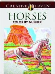 HORSES: Color by Number