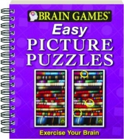 BRAIN GAMES EASY PICTURE PUZZLES: Exercise Your Brain