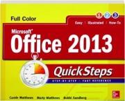 MICROSOFT OFFICE 2013 QUICKSTEPS