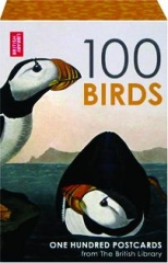 100 BIRDS: One Hundred Postcards from The British Library