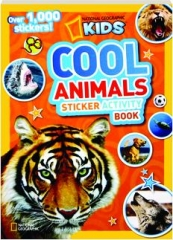 COOL ANIMALS STICKER ACTIVITY BOOK
