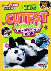 CUTEST ANIMALS STICKER ACTIVITY BOOK