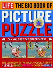 LIFE--THE BIG BOOK OF PICTURE PUZZLE