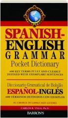 SPANISH-ENGLISH GRAMMAR POCKET DICTIONARY