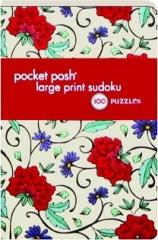 POCKET POSH LARGE PRINT SUDOKU: 100 Puzzles