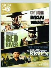 MAN OF THE WEST / RED RIVER / RETURN OF THE MAGNIFICENT SEVEN