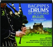 BAGPIPES & DRUMS OF SCOTLAND