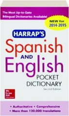 HARRAP'S SPANISH AND ENGLISH POCKET DICTIONARY, SECOND EDITION