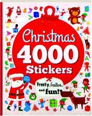 CHRISTMAS 4000 STICKERS: Frosty, Festive, and Fun!
