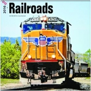 2016 RAILROADS 18-MONTH CALENDAR