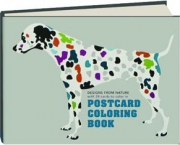 POSTCARD COLOURING BOOKS: Designs from Nature