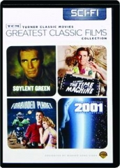 SOYLENT GREEN / THE TIME MACHINE / FORBIDDEN PLANET / 2001--A SPACE ODYSSEY