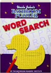 UNCLE JOHN'S BATHROOM PUZZLER WORD SEARCH