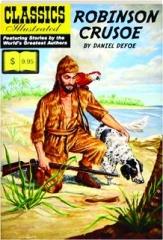 ROBINSON CRUSOE: Classics Illustrated No. 43