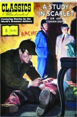 A STUDY IN SCARLET: Classics Illustrated No. 37