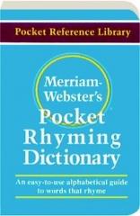 MERRIAM-WEBSTER'S POCKET RHYMING DICTIONARY