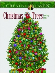 CHRISTMAS TREES COLORING BOOK