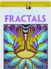NATURE FRACTALS COLORING BOOK