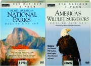 NORTH AMERICA'S NATIONAL PARKS / AMERICA'S WILDLIFE SURVIVORS