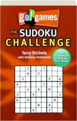 GO! GAMES THE SUDOKU CHALLENGE