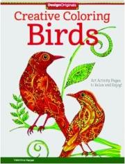 CREATIVE COLORING BIRDS
