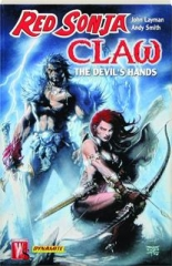 RED SONJA / CLAW: The Devil's Hands