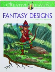 FANTASY DESIGNS COLORING BOOK