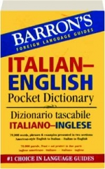 BARRON'S ITALIAN-ENGLISH POCKET DICTIONARY