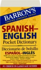 SPANISH-ENGLISH POCKET DICTIONARY: Barron's Foreign Language Guides