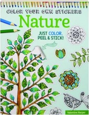 COLOR YOUR OWN STICKERS NATURE