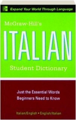 MCGRAW-HILL'S ITALIAN STUDENT DICTIONARY