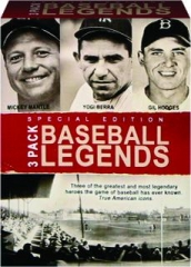 BASEBALL LEGENDS: 3 Pack, Special Edition