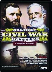 GREATEST CIVIL WAR BATTLES