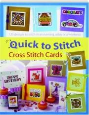 QUICK TO STITCH CROSS STITCH CARDS