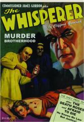 THE WHISPERER #7: Murder Brotherhood / The Death Roses / Afraid to Die
