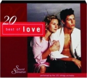 20 BEST OF LOVE: Sound Sensation