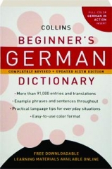 COLLINS BEGINNER'S GERMAN DICTIONARY, REVISED SIXTH EDITION