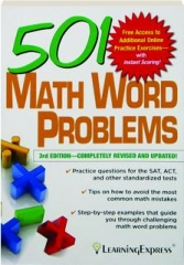 501 MATH WORD PROBLEMS, 3RD EDITION REVISED