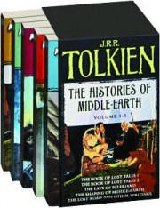 THE HISTORIES OF MIDDLE-EARTH, VOLUME 1-5