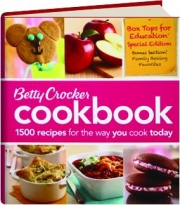 BETTY CROCKER COOKBOOK, 11TH EDITION: 1500 Recipes for the Way You Cook Today