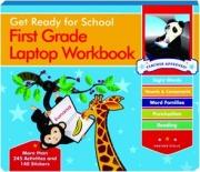 FIRST GRADE LAPTOP WORKBOOK: Get Ready for School