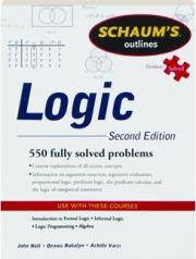 LOGIC, SECOND EDITION: Schaum's Outlines