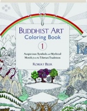 BUDDHIST ART COLORING BOOK, VOL. 1