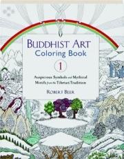 BUDDHIST ART COLORING BOOK, VOL. 1